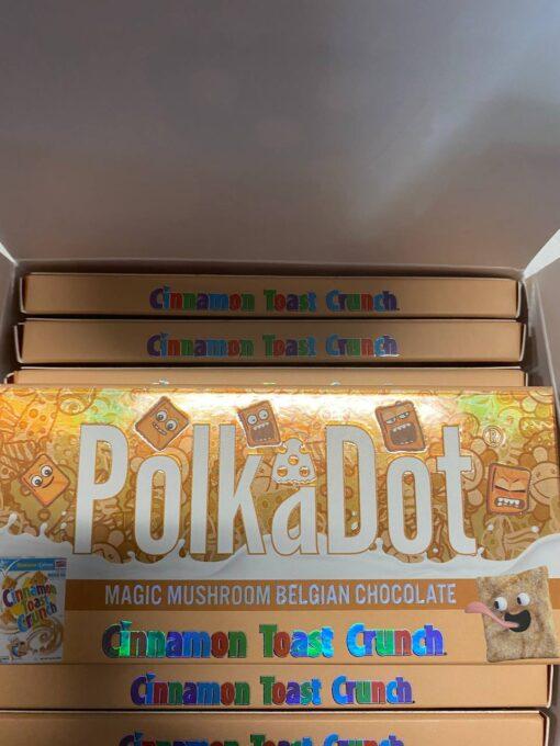 Polka Dot Magic Mushroom Chocolate Bar